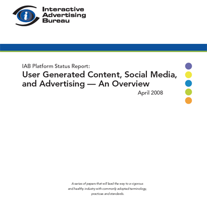 IAB User Generated Content