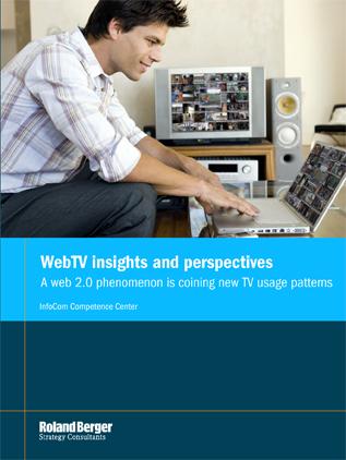 Internetfernsehen Online Video Studie Roland Berger Prognose WebTV