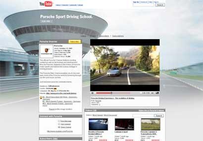 Porsche YouTube Channel