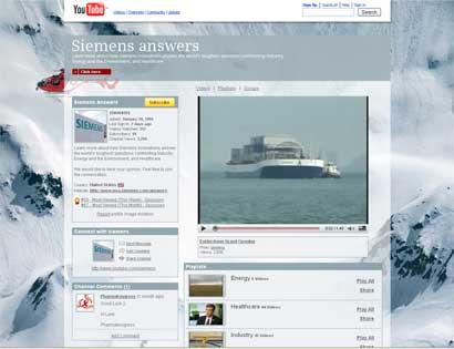 Siemens YouTube Channel