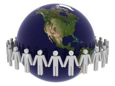 Globale Internetpopulation
