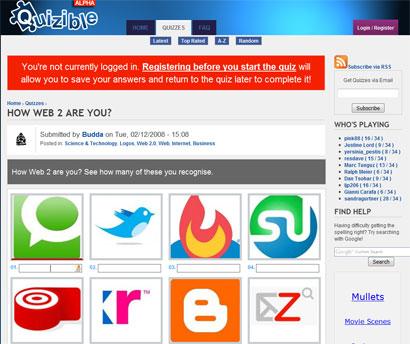 Web 2.0 Quiz