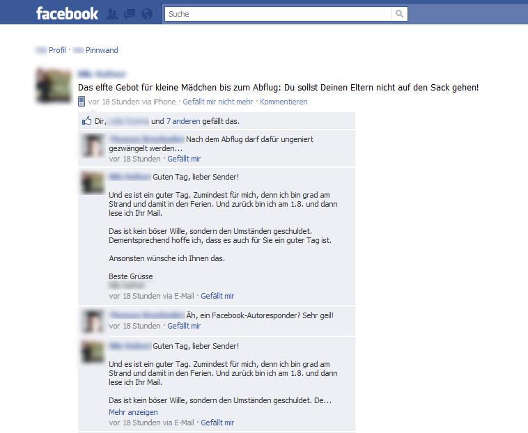 Autoresponder Fur Facebook Out Of Office Fur Facebook Kommentare