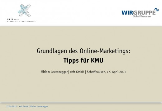 Online Marketing für Beginner
