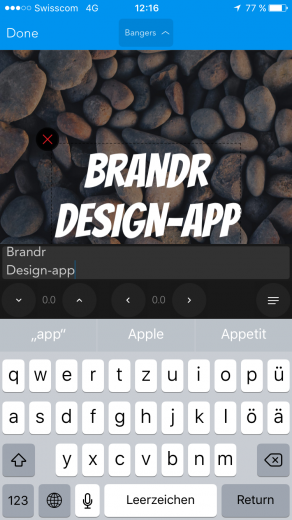 Screenshot Brandr Review