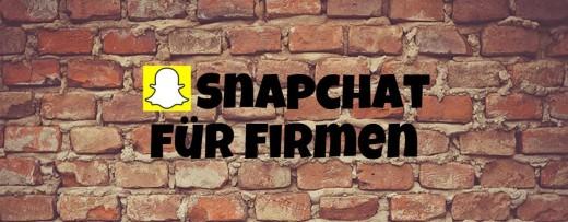 snapchat-für-Firmen