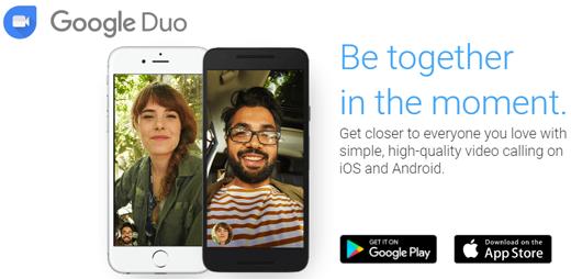 Videochat App Google Duo