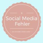 9 Social Media Fehler